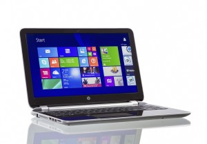 Microsoft Windows on a Laptop