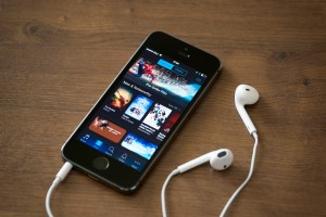 iTunes App on iPhone 5s