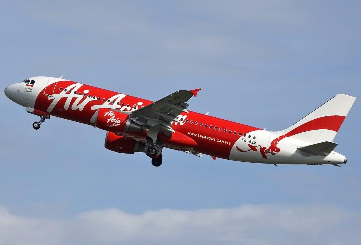 Air Asia Airbus in Indonesia