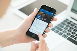 facebook application on mobile