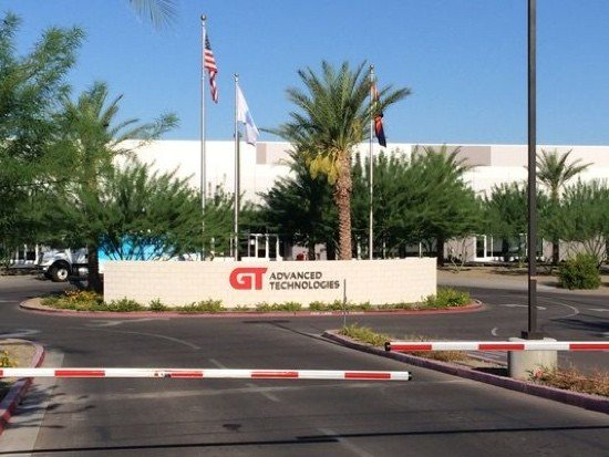 Apple GT Advanced Technologies Data Centre