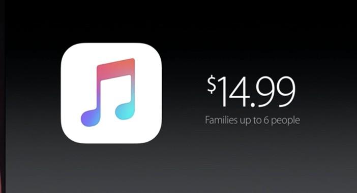 Apple Music Keynote Slide