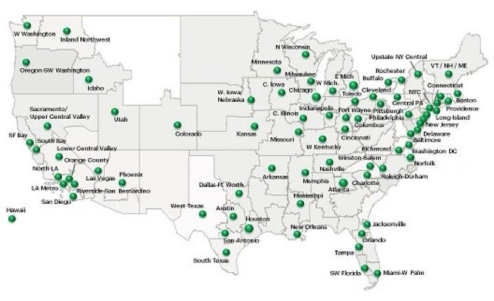 Sprint LTE Plus Map