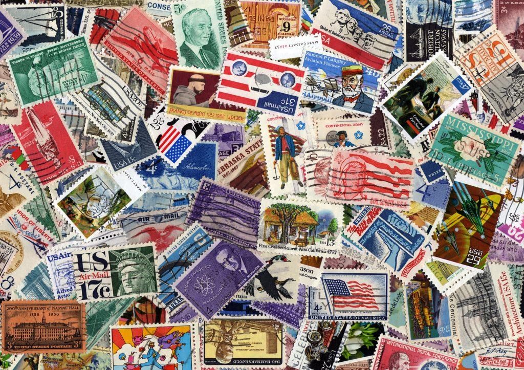 USA postage stamp collection