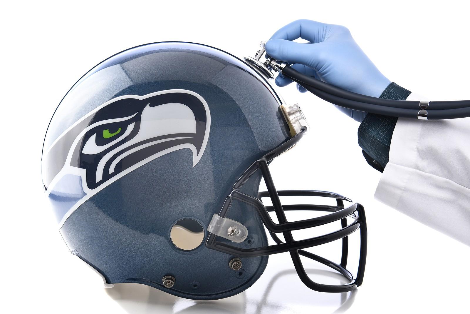 Seattle Seahawks Football Helmet w